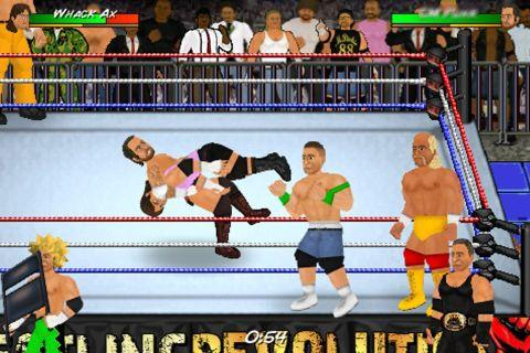 Wrestling Revolution WWE: мир боев без правил