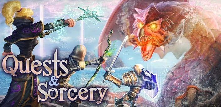 Quests & Sorcery: яркая RPG