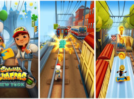 Subway Surfers: гонки в метро
