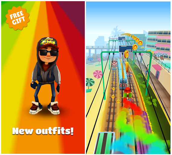 Subway Surfers Miami: побегаем?