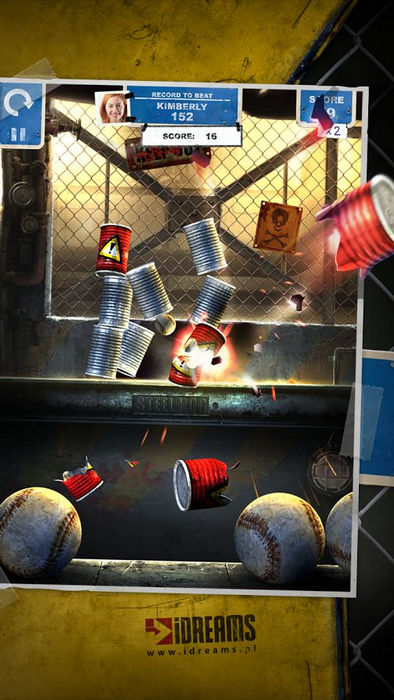 Can Knockdown 3: попадешь мячом в банки?